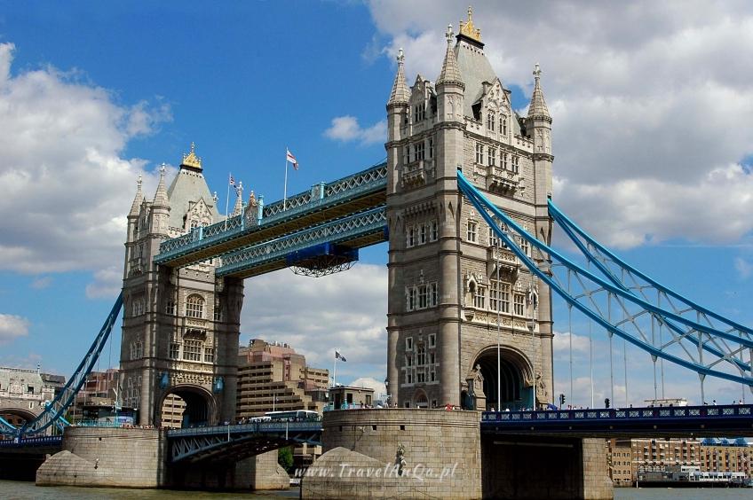 Wycieczka do Londynu na własną rękę - Tower Bridge